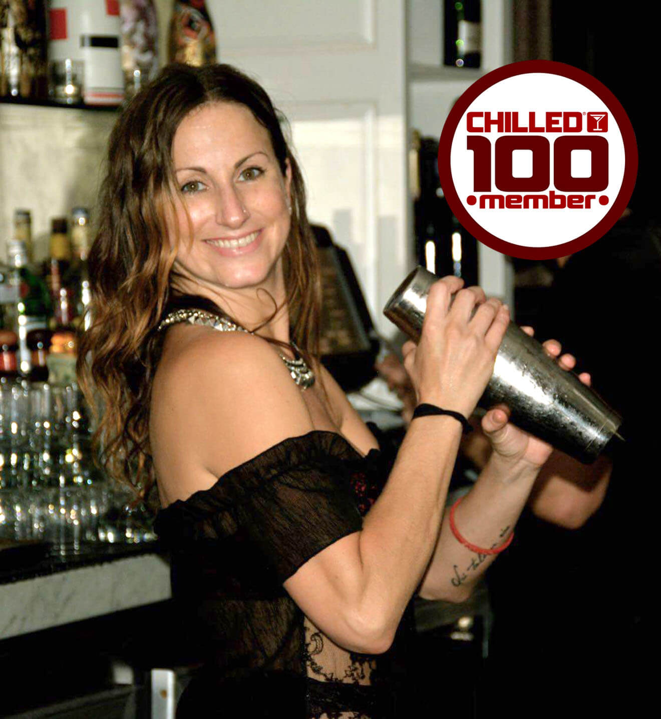 Chilled 100 Member and Mixologist Amanda Barton