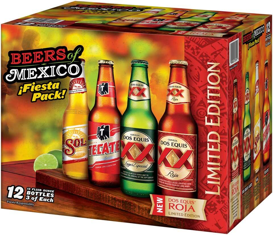 Beers of Mexico Roja 12 pack