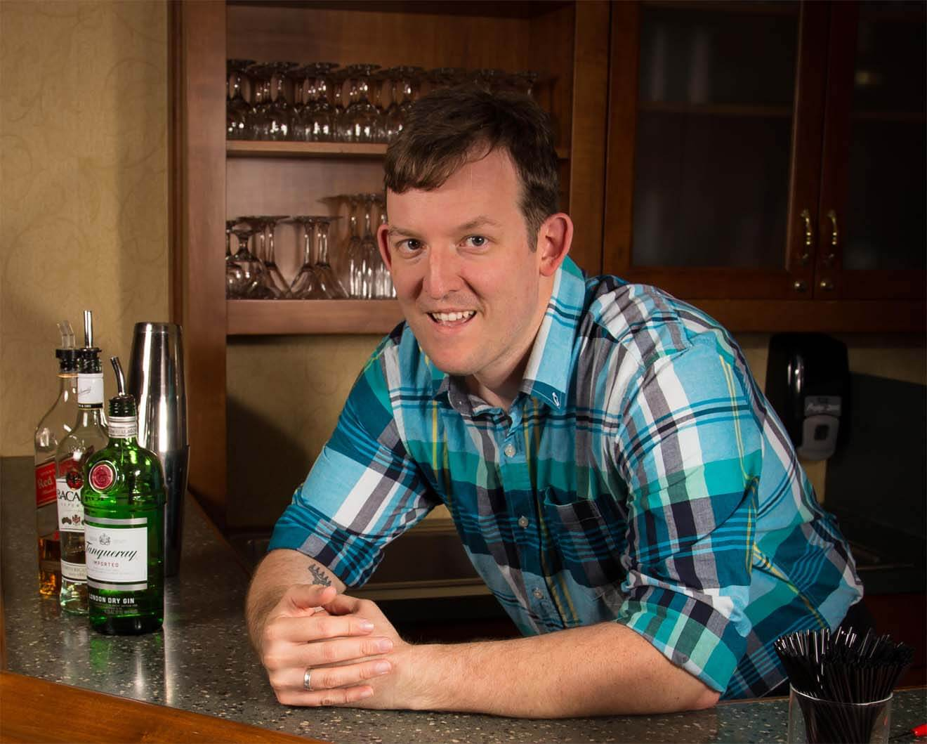 Featured Mixologist Chris Spear