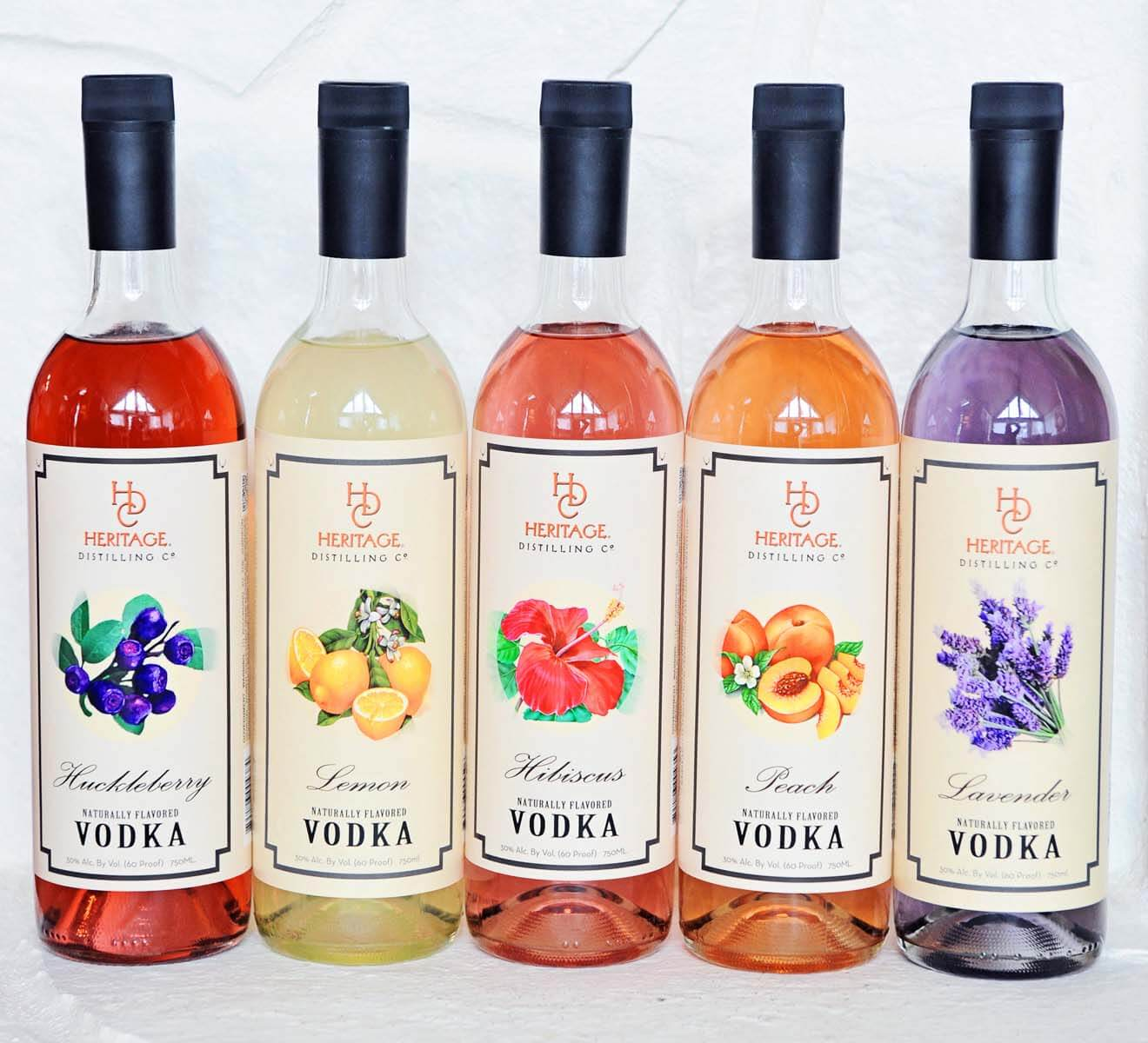 Heritage Distilling Flavored Vodka Varieties