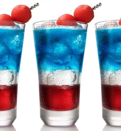 Red, White & Blue Cocktails Salute the Stars and Stripes