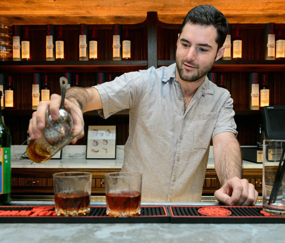 NYC Based Bartender Robert Kreuger
