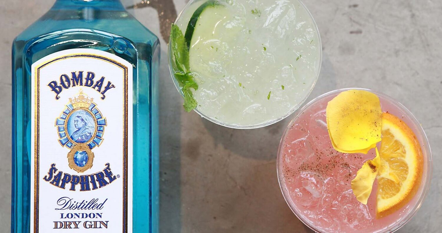 Recap: Member's Only Mixing with Bombay Sapphire