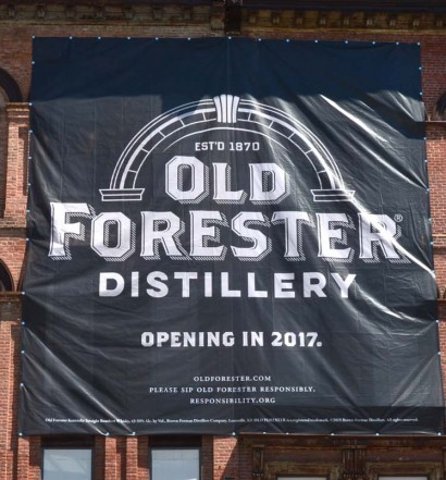 Brown-Forman Kicks Off Construction of Old Forester Distillery on Historic Whiskey Row