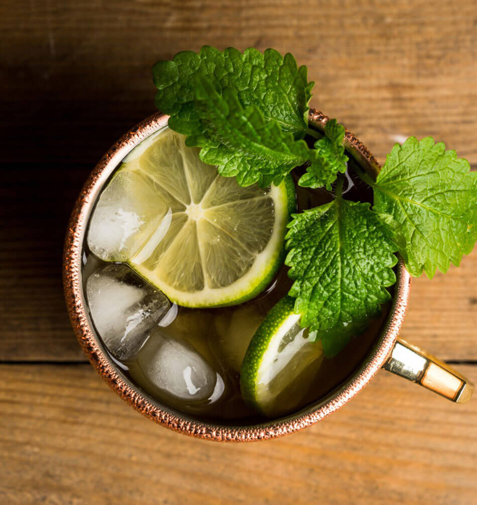 Amatitán Mule cocktail