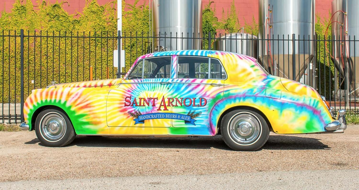 Saint Arnold Brewing Company Starts Phased Rollout of Art Car IPA