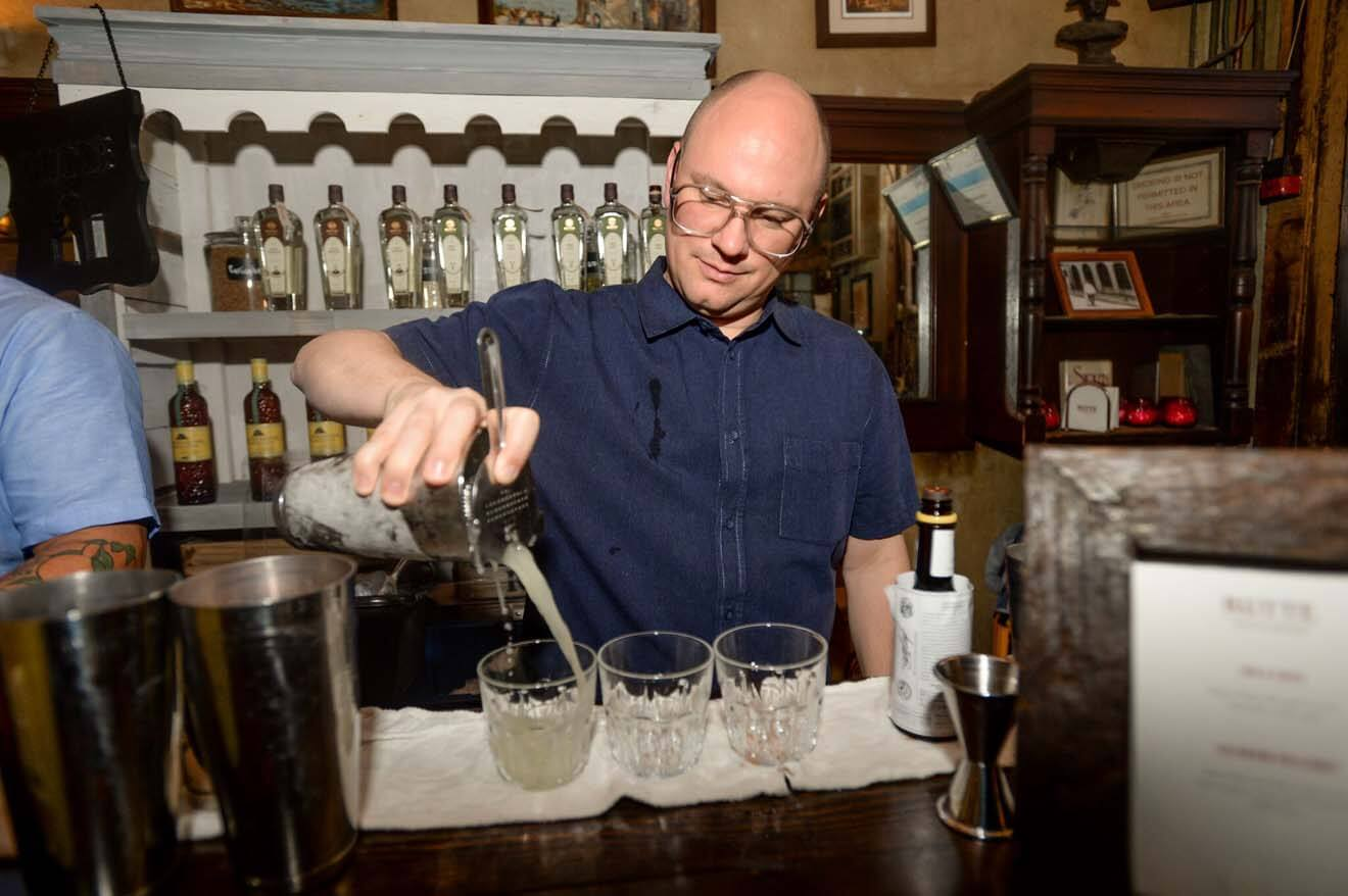 Camper English Pouring Drinks at Napoleon House