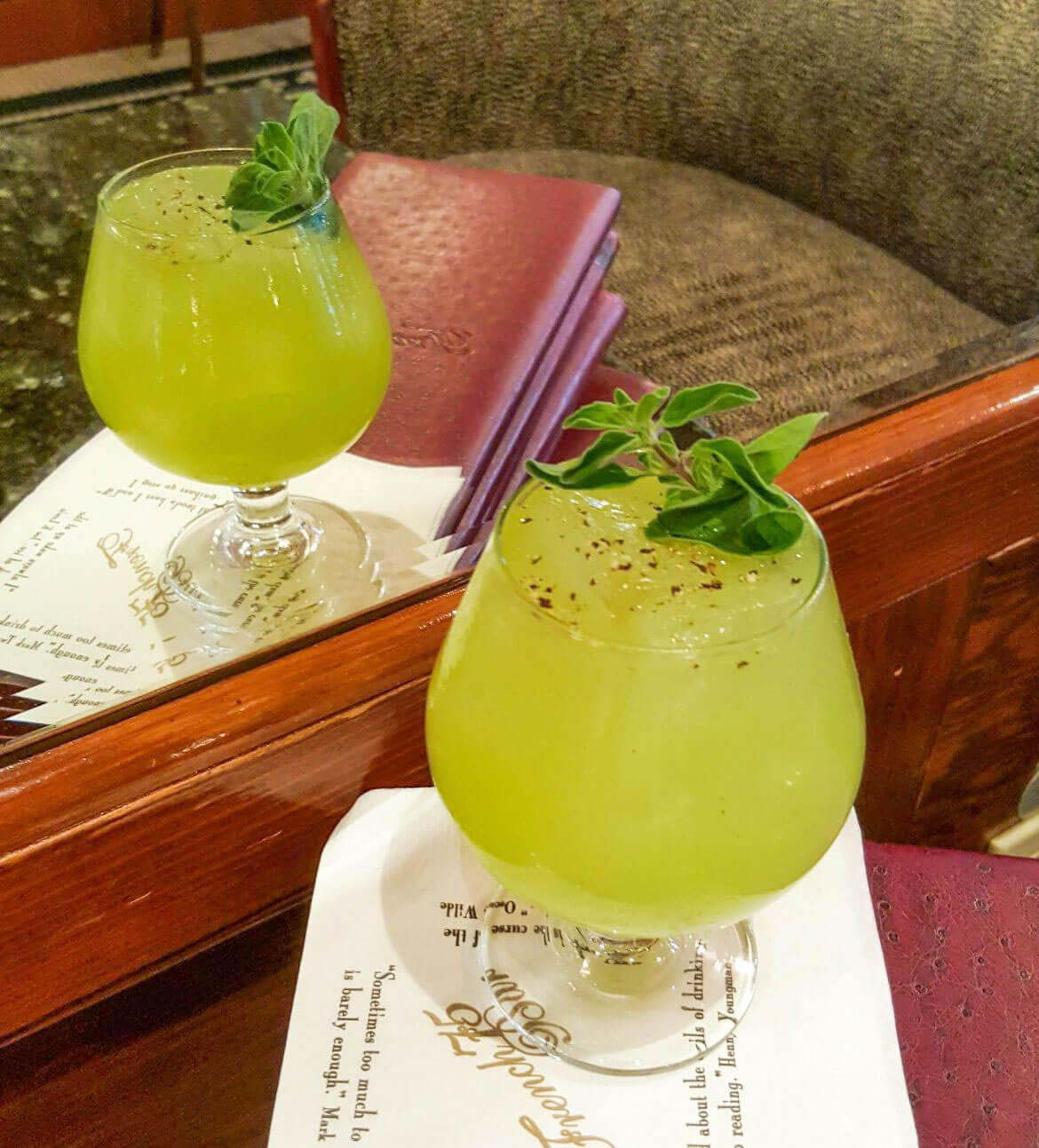 Garden of Mayahuel cocktails
