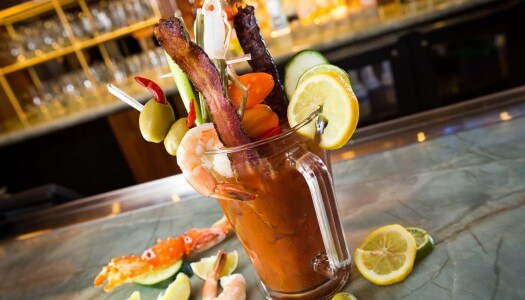 HEXX Kitchen & Bar Las Vegas Colossal Bloody Mary