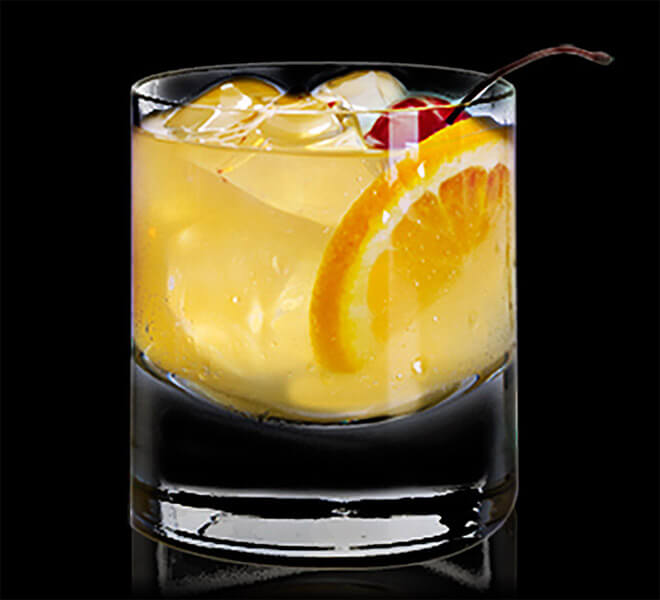 Honey Whiskey Sour
