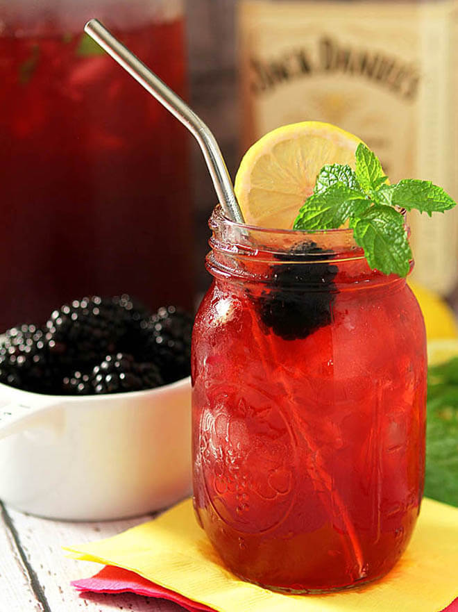 Jack Honey Blackberry Tea