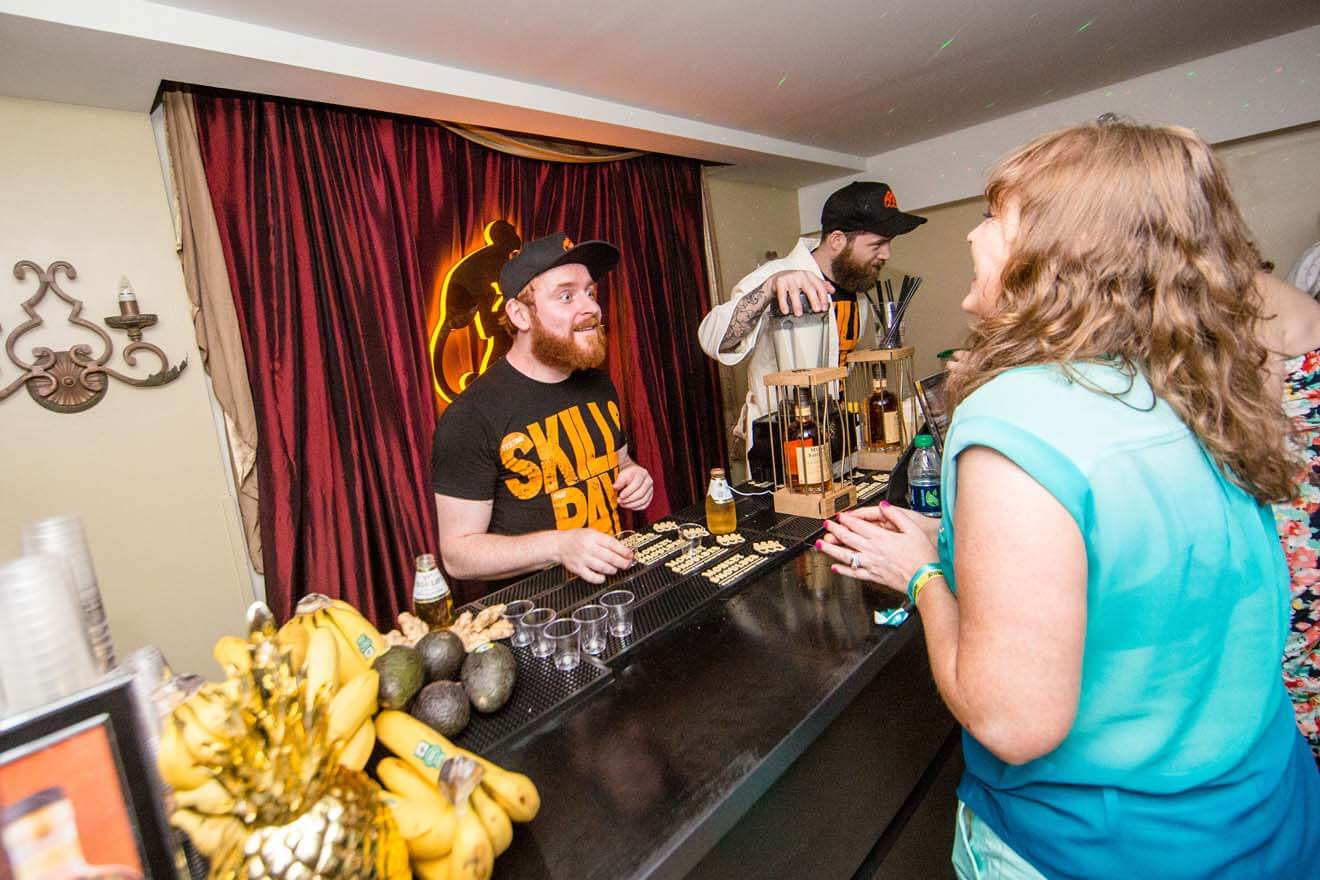William Grant and Sons Official Monkey Shoulder After Party at the Bourbon Orleans