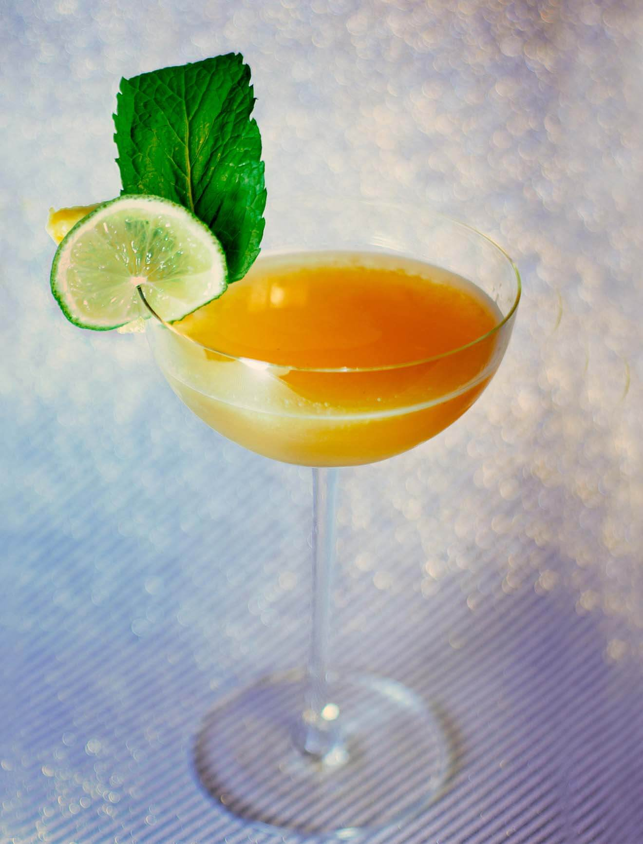 Pineapple Mint Daiquiri