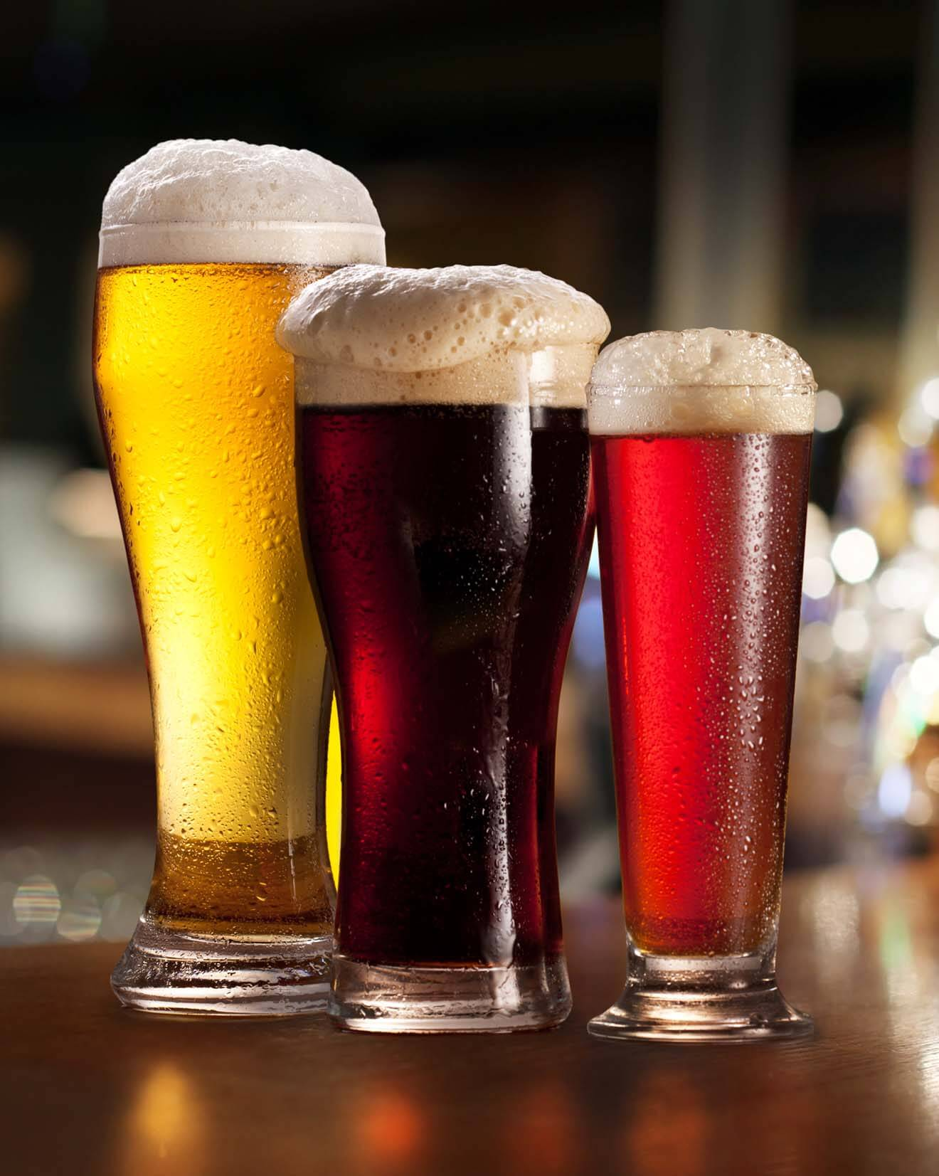 Selection of Beers on Draft