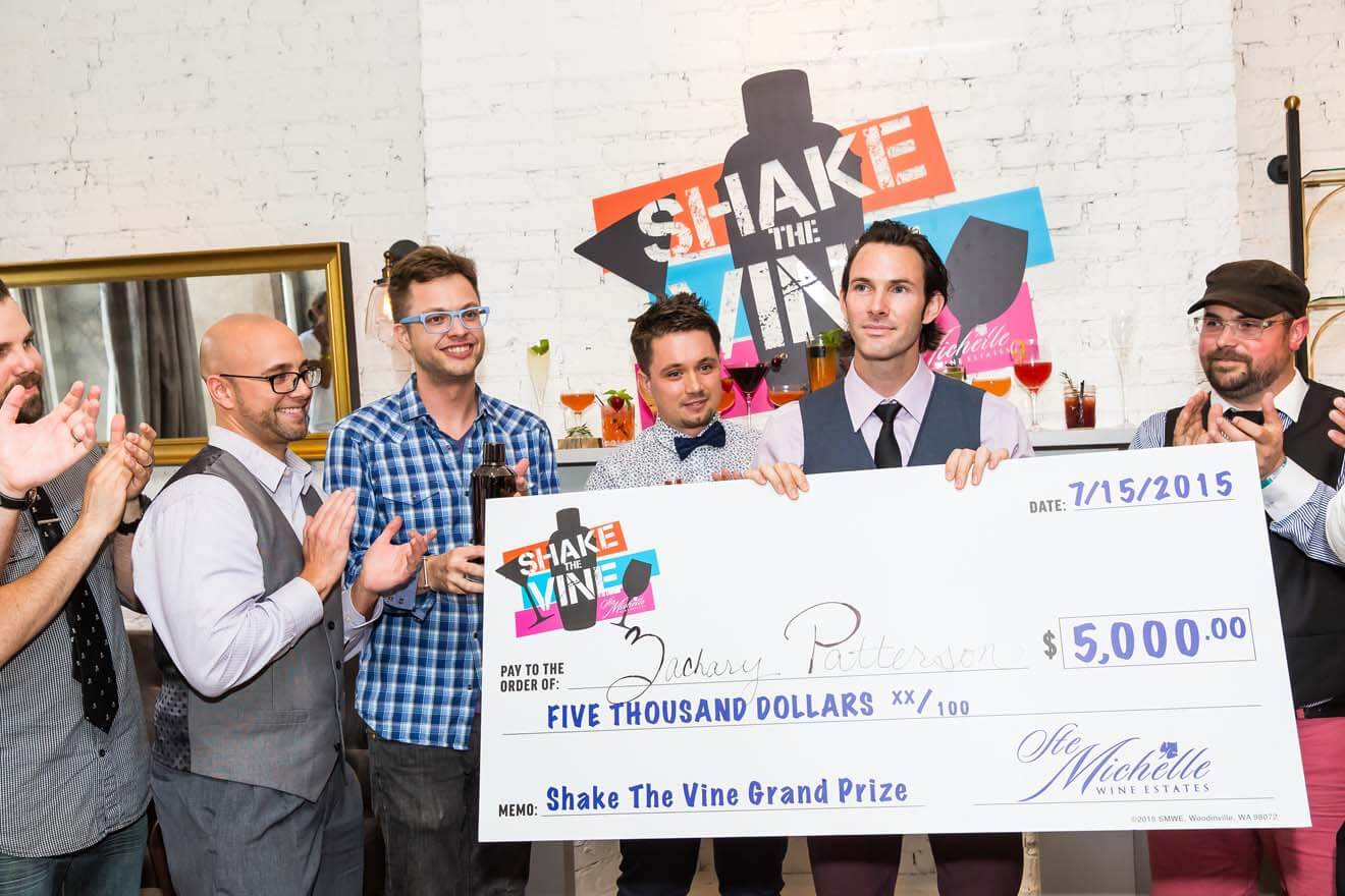 """Shake The Vine"" Winner Zach Patterson and Other Mixologists"