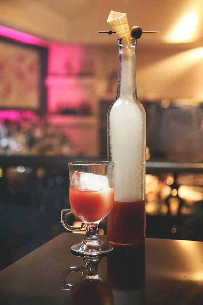 Orchid's Smoked Bloody Mary