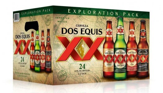 Dos Equis' New Exploration Variety Pack Appeals to Consumers' Adventurous Side