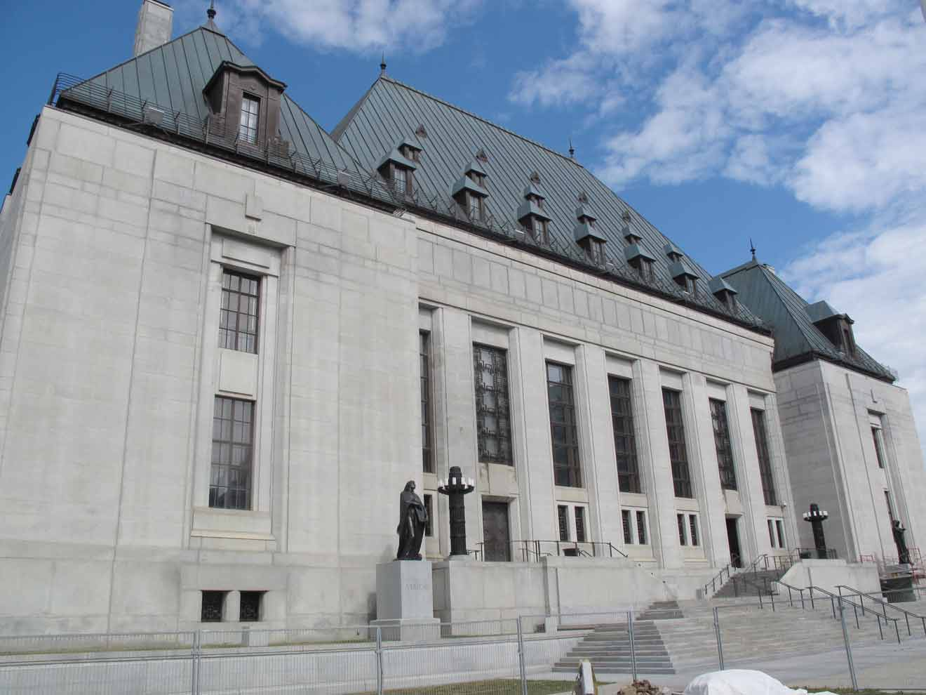 Supreme Court of Canada - court of last resort for crimes against whisky
