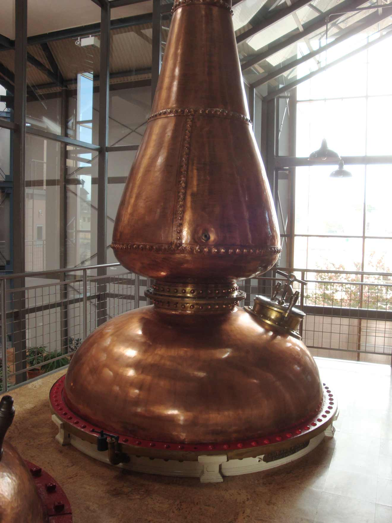 Canadian distillers use pot stills to concentrate flavors in the distillate