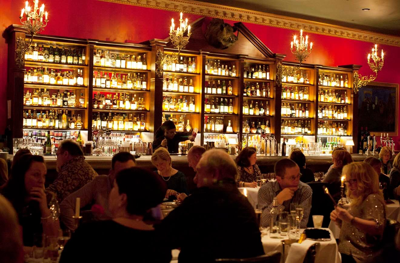 Boisdale Canary Wharf Guests Dining