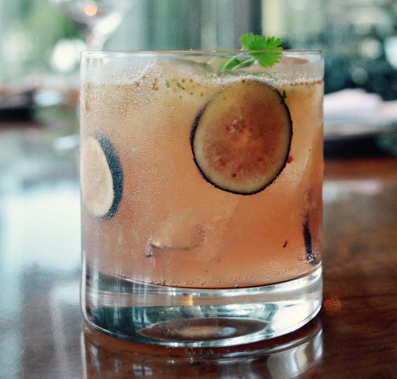 Fig & Whistles Cocktail