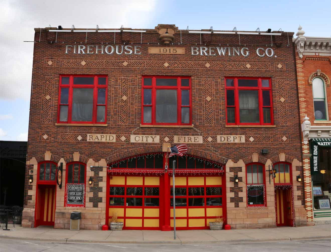 Firehouse Brewing Front Entrance