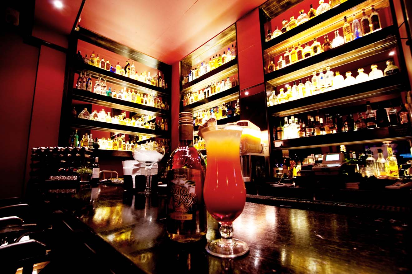 Mestizo Bar with Cocktails