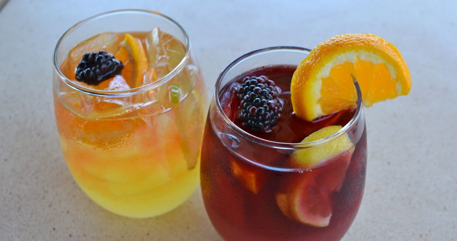 Sangria Cocktails from Twenty/20 in Carlsbad, CA