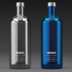 Limited Edition Absolut Electrik Bottles