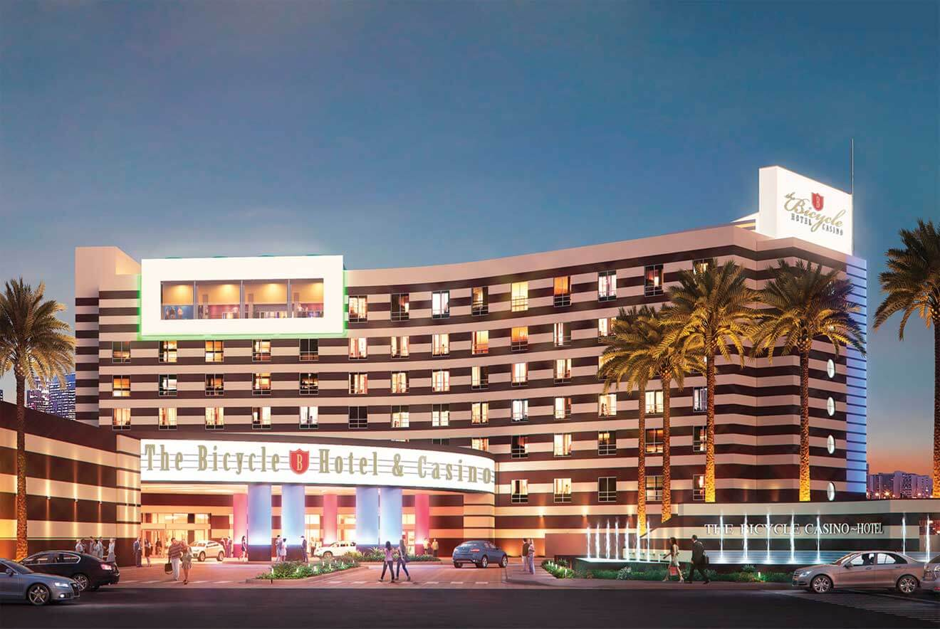The Bicycle Hotel & Casino Night Rendering