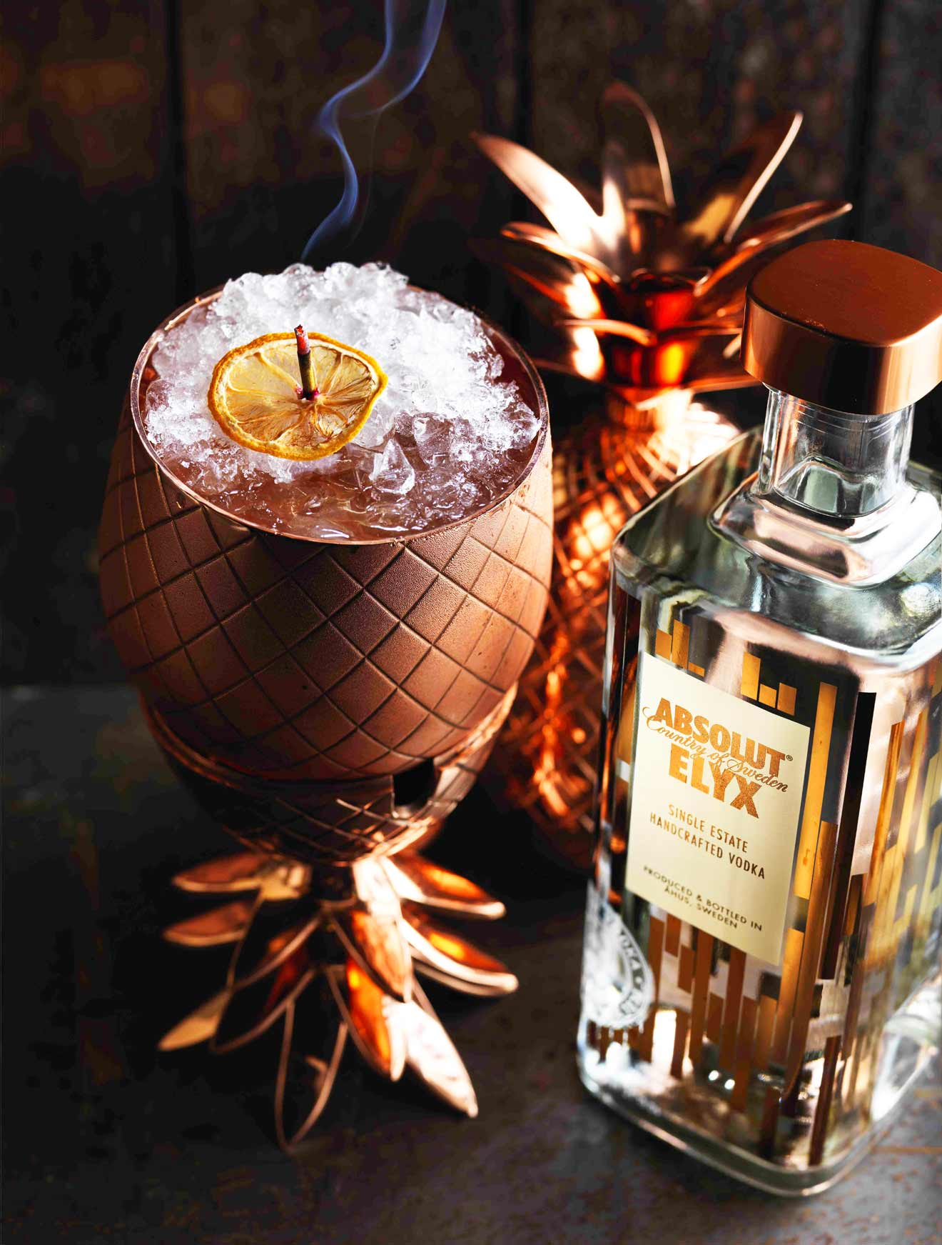 Absolut Elyx and the Pineapple of Hospitality