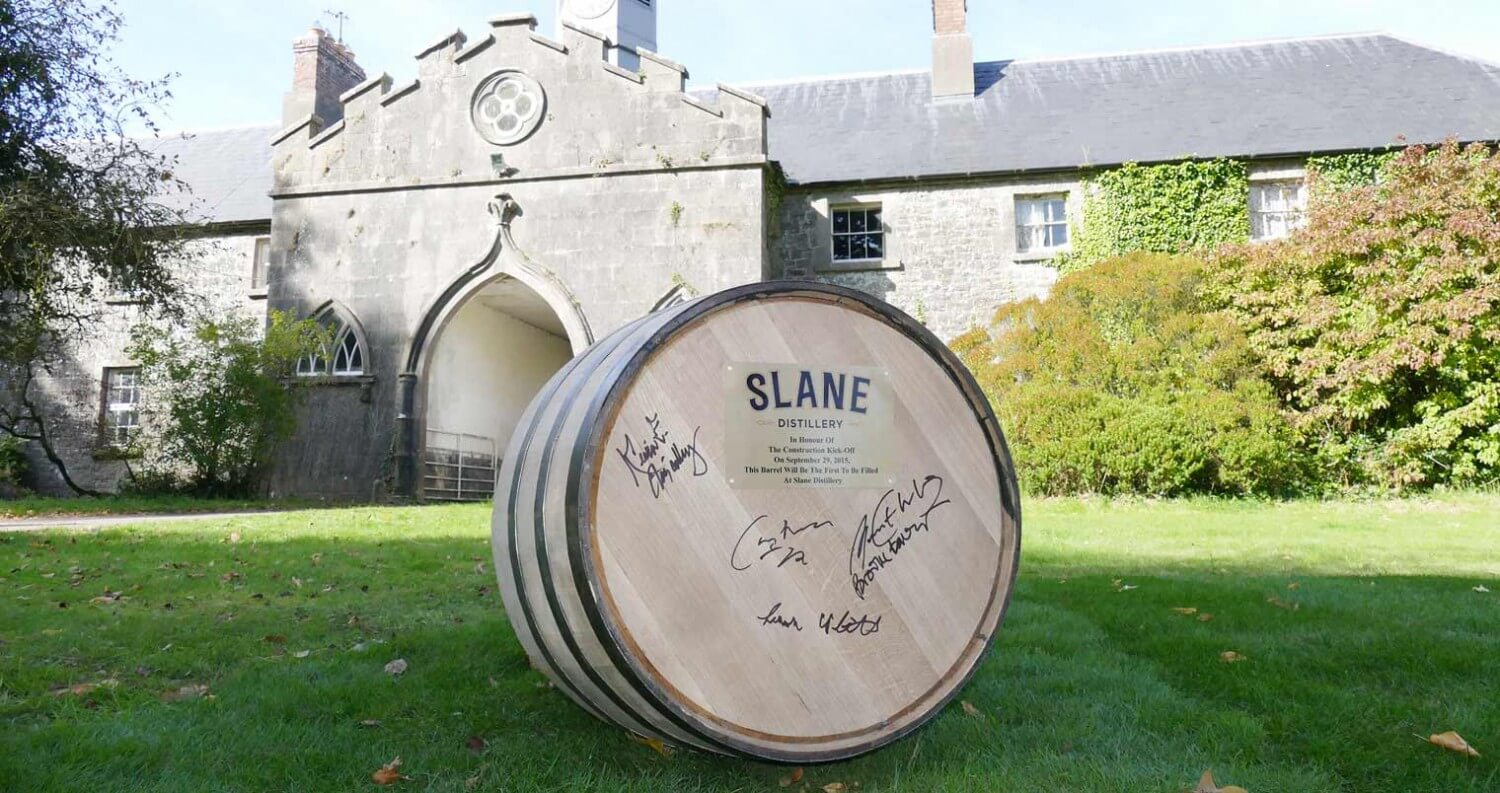 Brown-Forman Breaks Ground on Irish Whiskey Distillery at Slane Castle