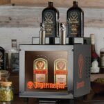Jägermeister bottle shot dispenser