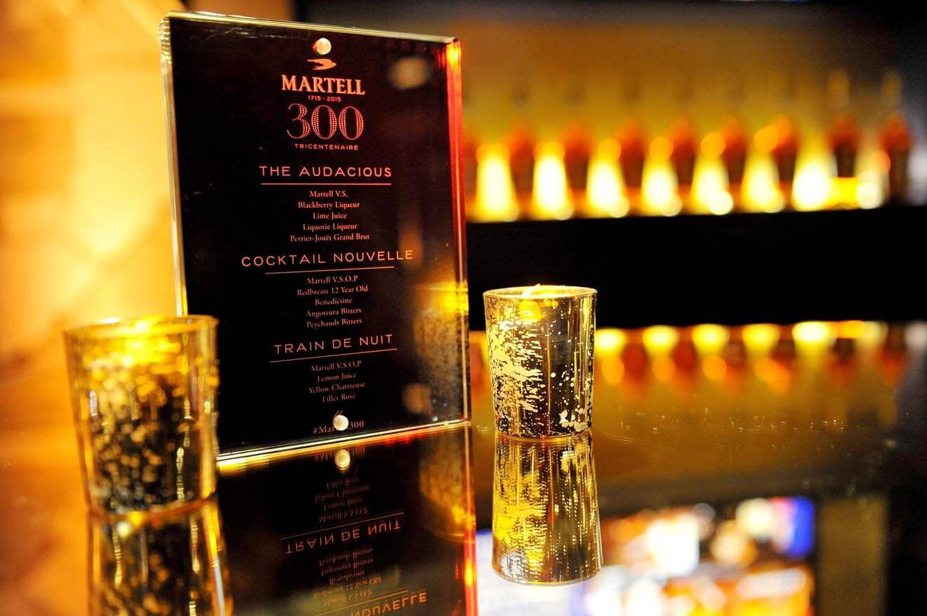 Martell 300 Signature Cocktails