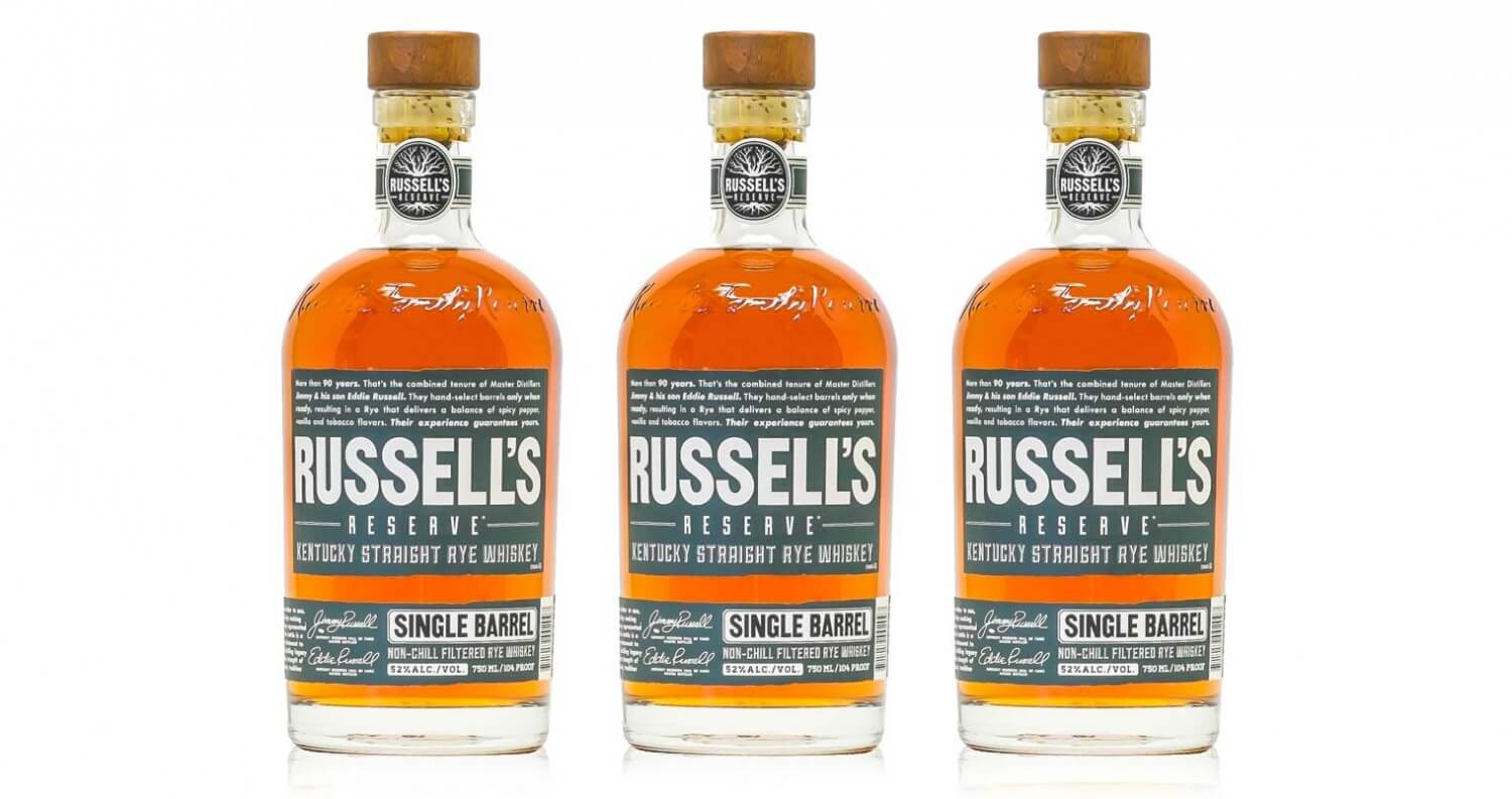 Russell's Reserve Unveils First Single Barrel Rye