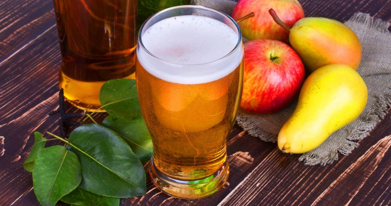It's Cider Time - Bring on the Cold Weather with These 6 Ciders, glass, fruits