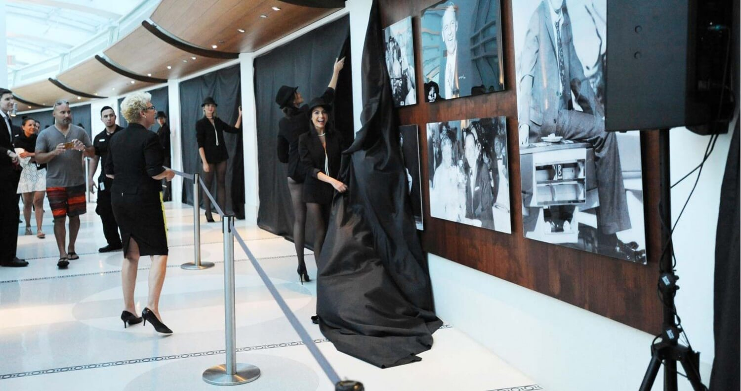 Frank Sinatra Photo Gallery Unveiled at Fontainbleau Miami Beach