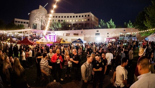 Motley Brews' 4th Annual Downtown Brew Festival in Las Vegas Lights Up the Night