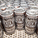 Death by Coconut Goes National, cans