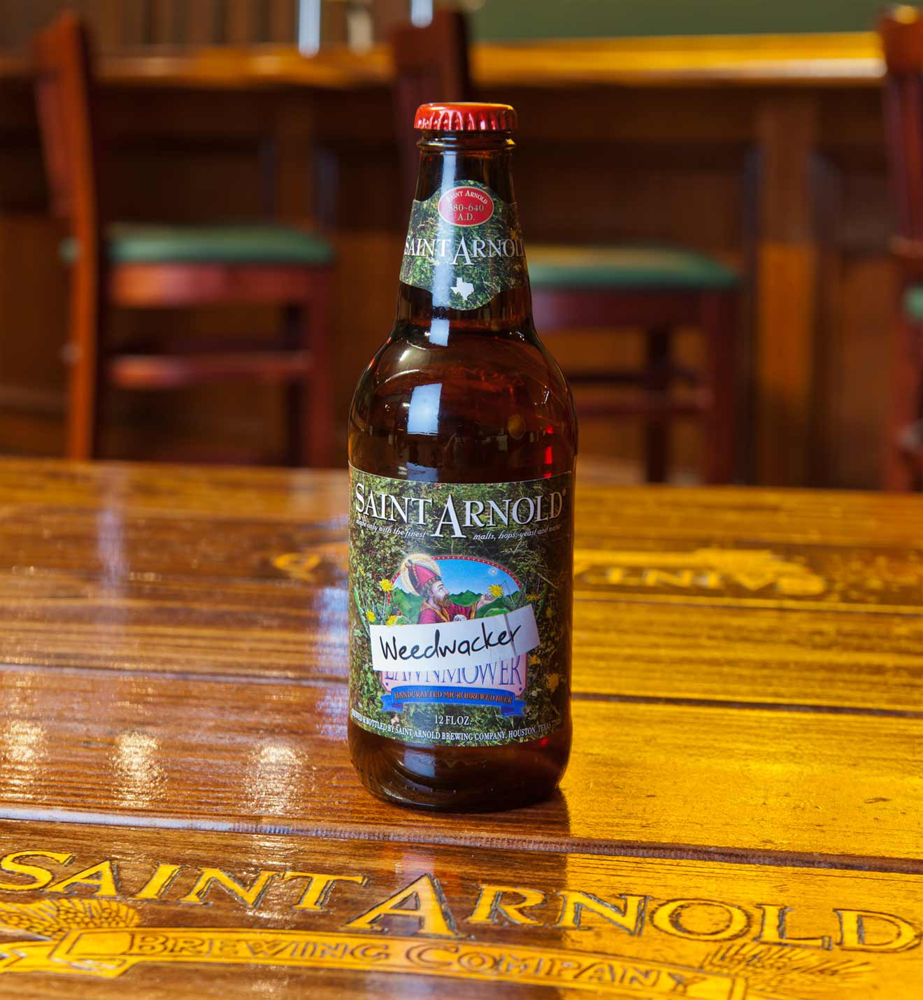 Saint Arnold Weedwacker Bottle
