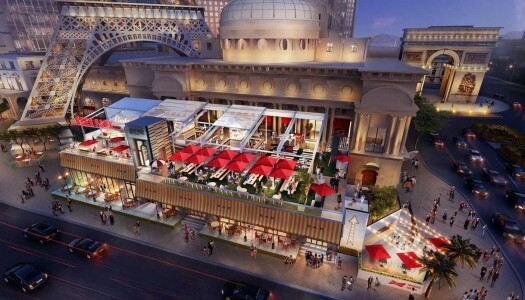 Beer Park by Budweiser to Bring the Strip's First Rooftop Bar and Grill to Paris Las Vegas