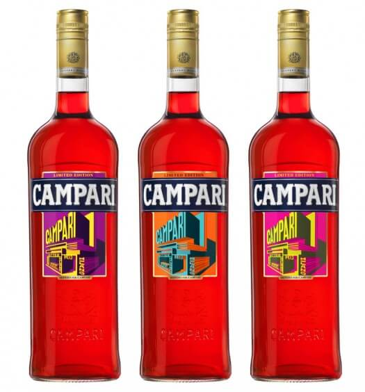 Campari Releases Limited Edition Art Label for the Holidays