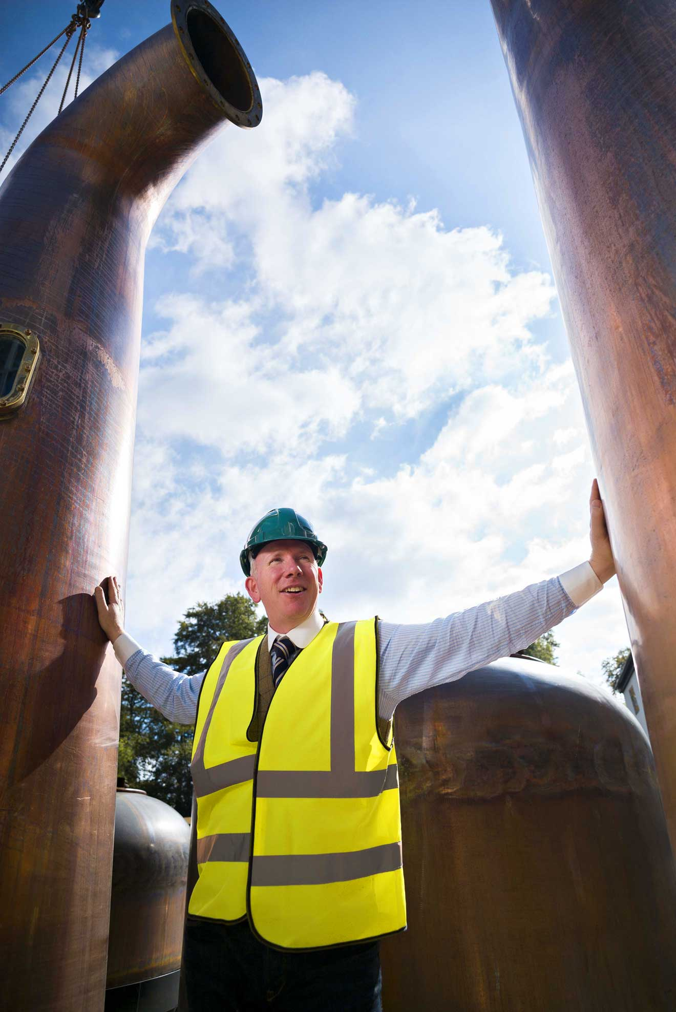 Walsh Whiskey Distillery Welcomes Arrival of Giant Whiskey Pots