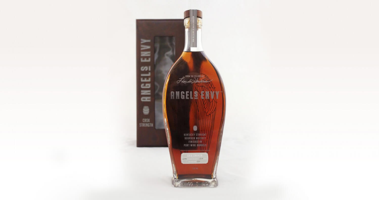 Angel's Envy Announces Cask Strength Limited-Edition Release, bottle and package