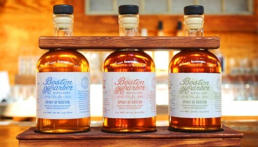 Boston Harbor Distillery Releases 'Spirit of Boston' Three-Pack