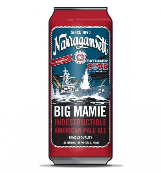 Narragansett Releases Big Mamie Indestructible American Pale Ale