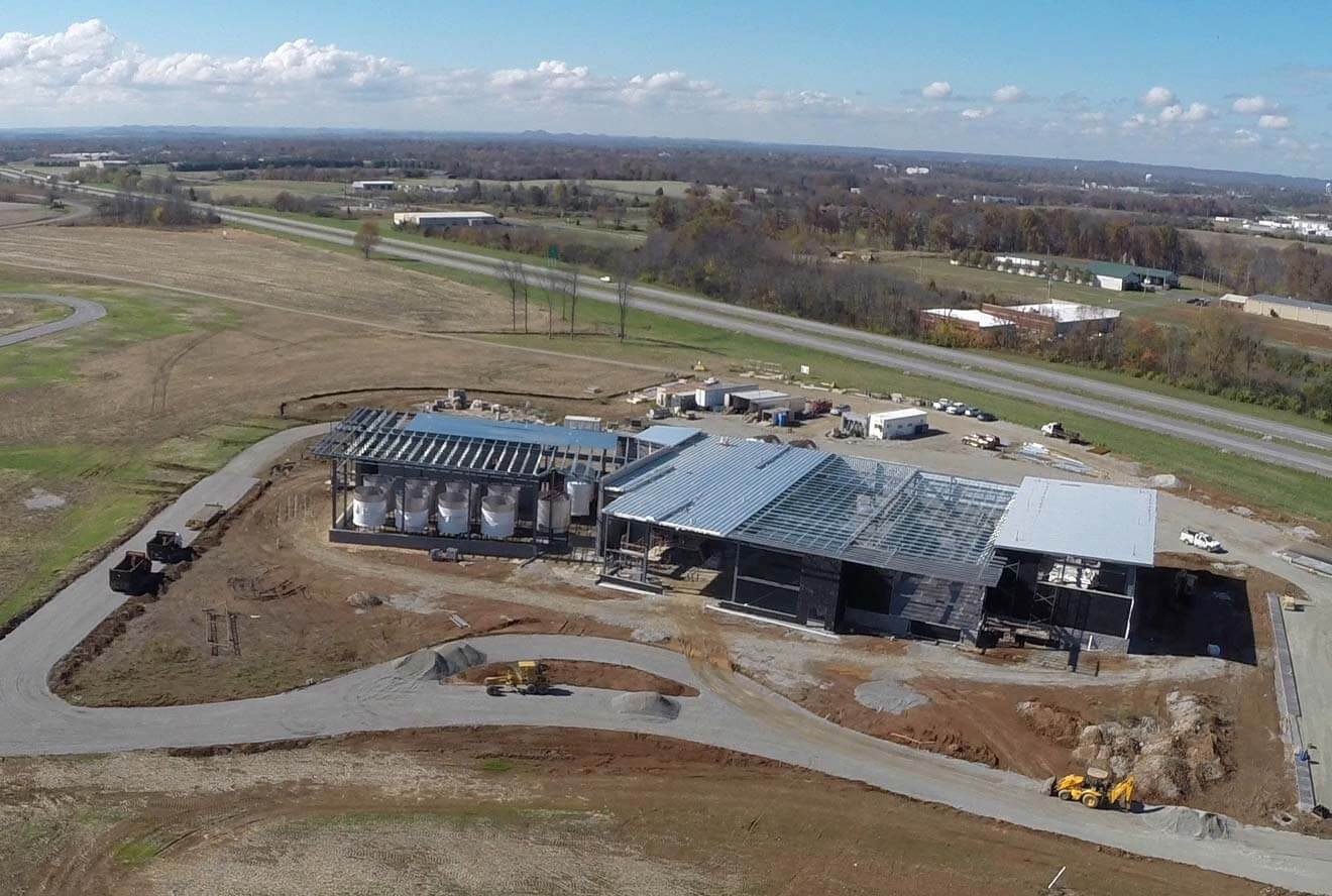 Bardstown Bourbon Company Aerial View