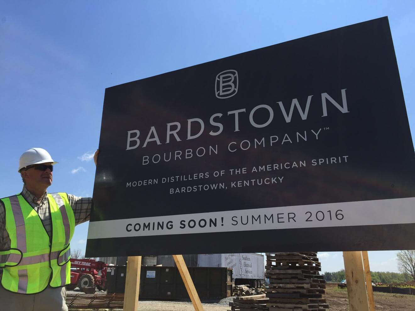 Bardstown Bourbon Company Outdoor Signage