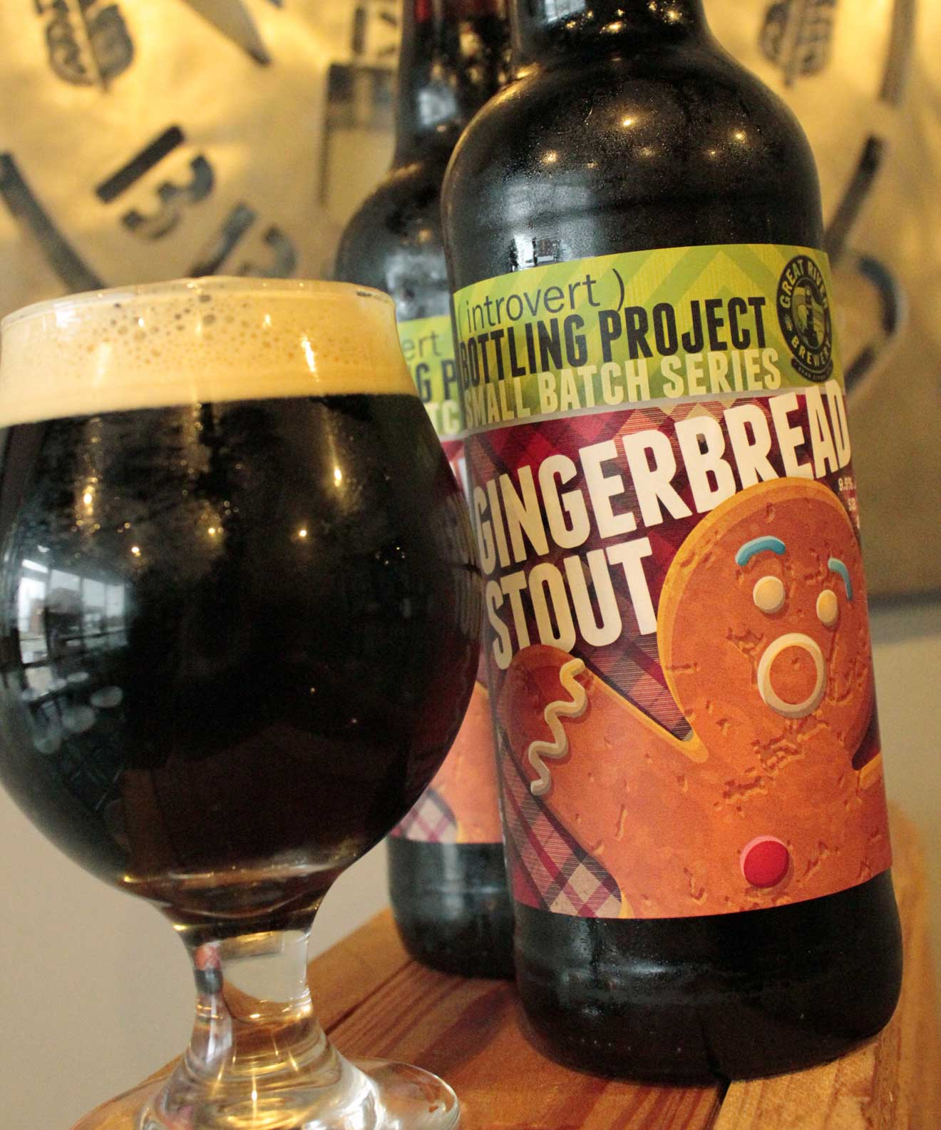 Great River Brewery Gingerbread Stout