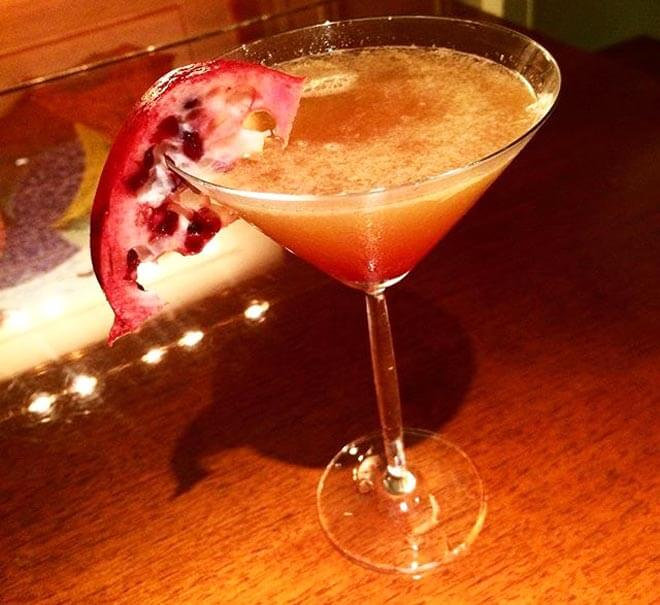 Location cocktail by writer and mixologist Josh Curtis